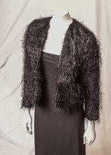 Load image into Gallery viewer, Faux Fur Eyelash Fabric, Novelty Jacket, Thomas P. Cavanaugh  Photographer