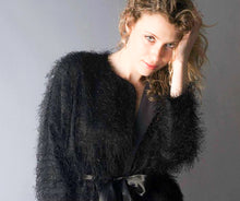 Load image into Gallery viewer, Faux Fur Eyelash Fabric, Novelty Jacket, Will Edwards Photographer