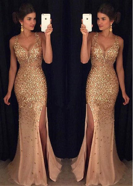 heavy-beaded-mermaid-prom-gowns