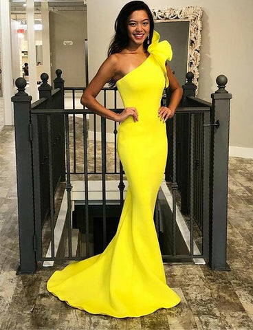 yellow-mermaid-prom-dress