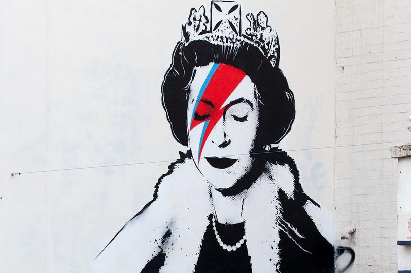 Banksy Ziggy Queen