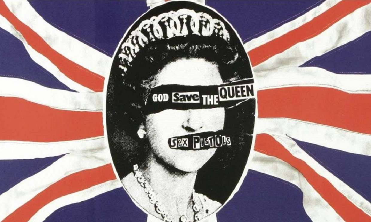 jamie reid god save the queen poster