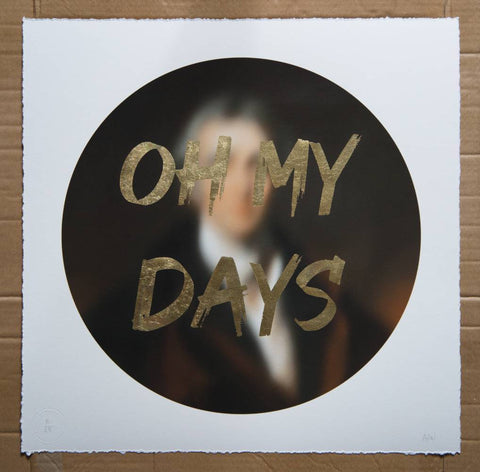 AAWatson 'Oh My Days' | Limited Edition Print