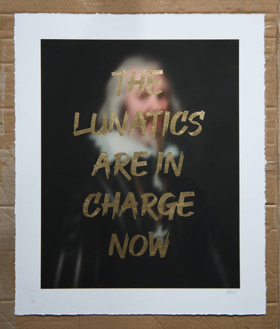 AAWatson 'The Lunatics Are In Charge Now' | Limited Edition Print