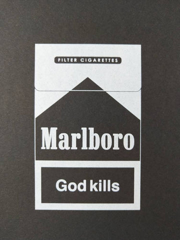 Alex Bucklee 'God Kills' (Monochrome) | Limited Edition Screen Print