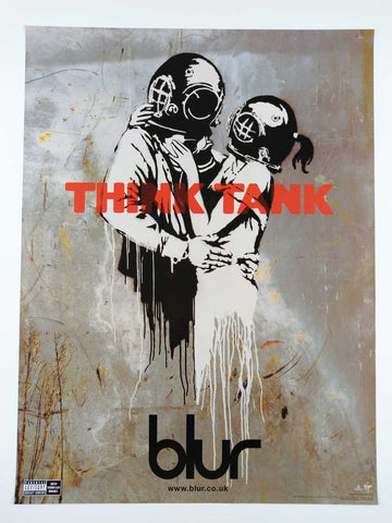 Banksy | Blur Think Tank Rare Promotional Poster