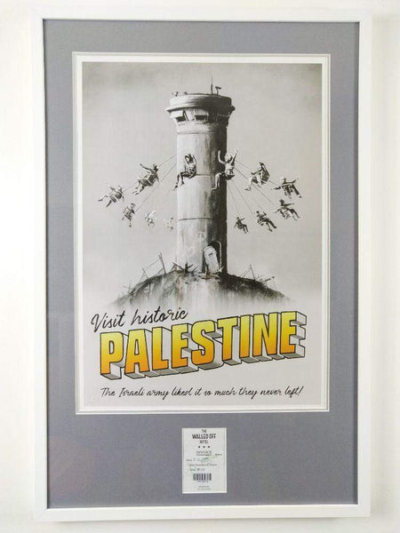 Banksy | Walled Off Hotel - Palestine Poster