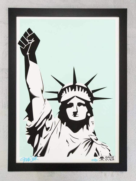 GAME OVER | Statue Of Hypocrisy | Limited Edition Print