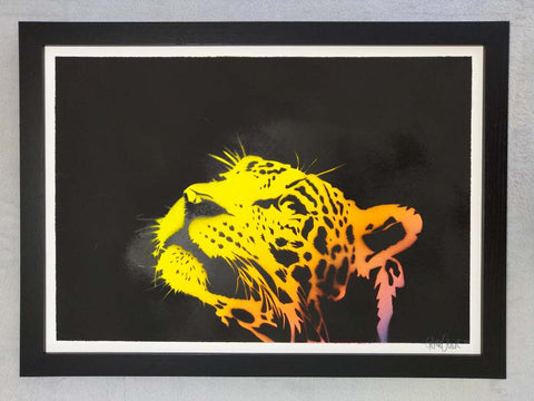 GAME OVER | Leopard | Original Spray Paint And Stencil