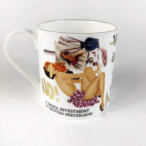 Grayson Perry | A Small Investment in British Perversion Mug, 3D Art sculpture