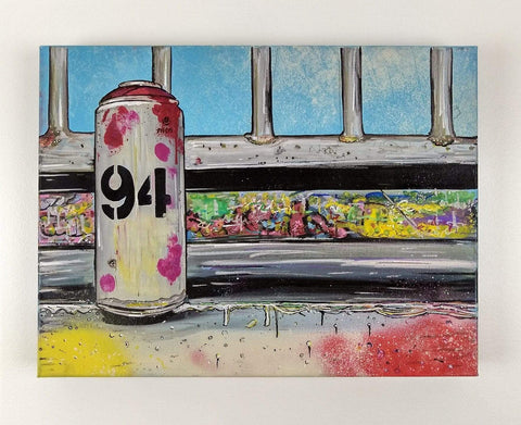 John Curtis | Empty Can | Original artwork on Canvas