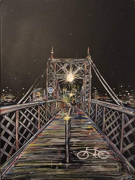 John Curtis | Bristol Gaol Ferry Bridge | Limited Edition Print
