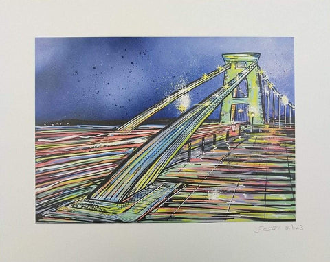 John Curtis | Clifton Suspension Bridge | Limited Edition Print