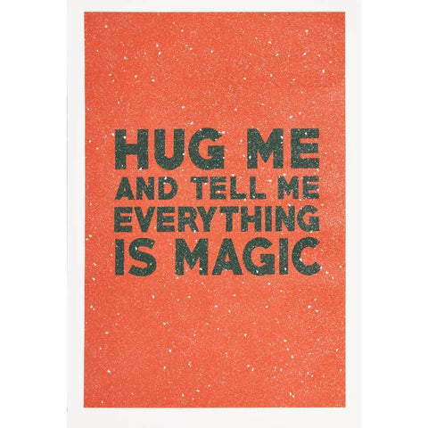 Maxwell Fine Studio | Hug Me - Print with Diamond Dust