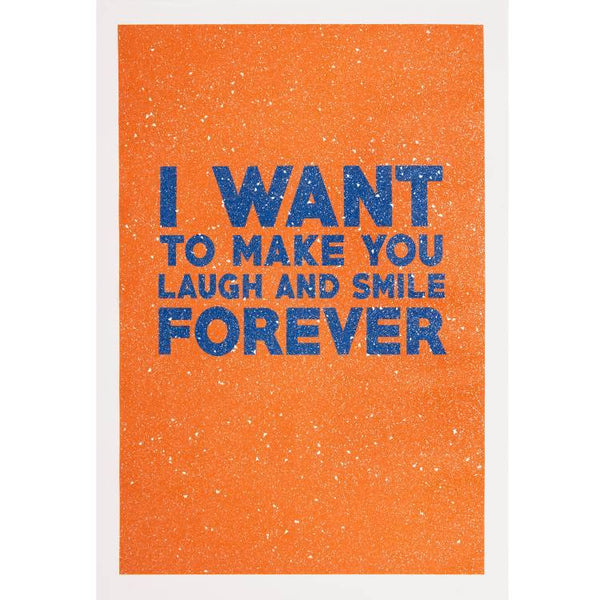 Maxwell Fine Studio | Laugh And Smile - Print with Diamond Dust