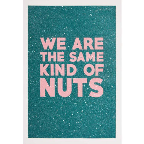 Maxwell Fine Studio | Nuts - Print with Diamond Dust