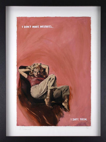 Mr. Controversial | I Don't Make Mistakes II - Limited Edition Framed Print