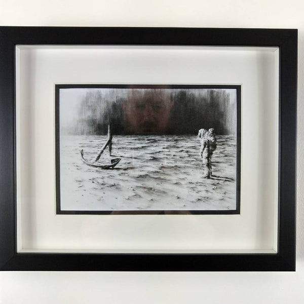 Pejac | H20 (mini print) Framed