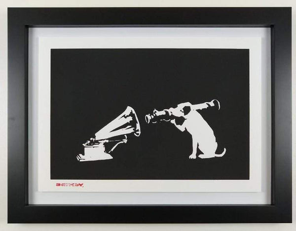 Banksy HMV replica by artist West Country Prince