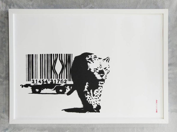 Banksy Barcode Replica by Artist West Country Prince