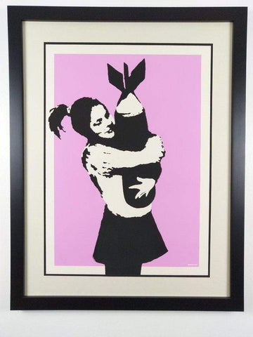 Banksy Bomb Hugger Replica by artist West Country Prince
