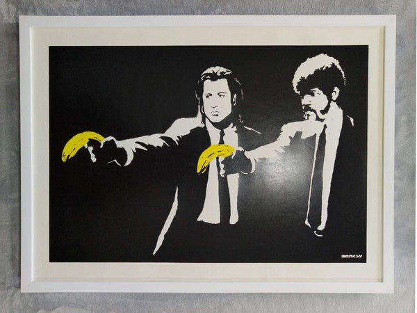 Banksy Pulp Fiction Replica by artist West Country Prince.
