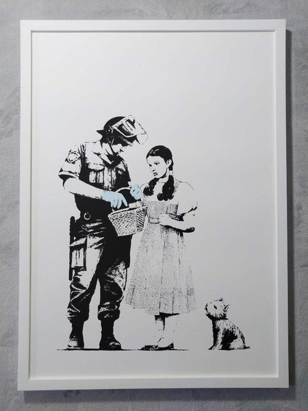 Banksy Stop and Search Replica by Artist West Country Prince