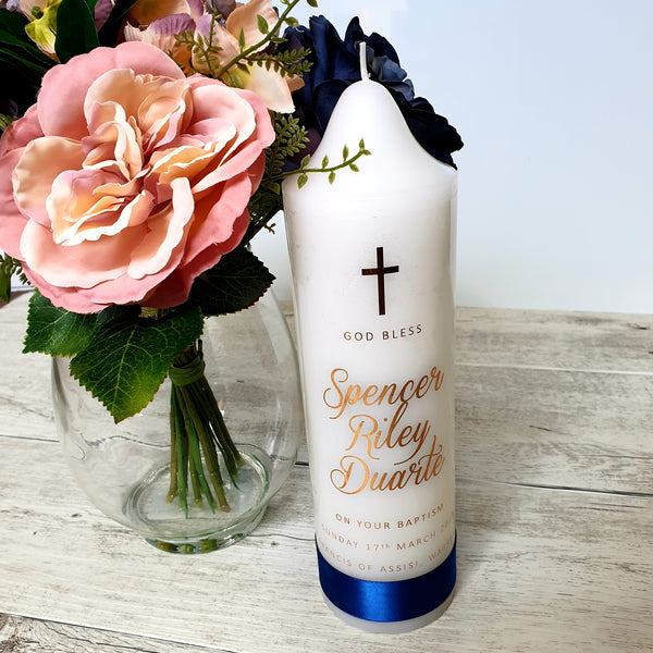Christening Candle - Classic