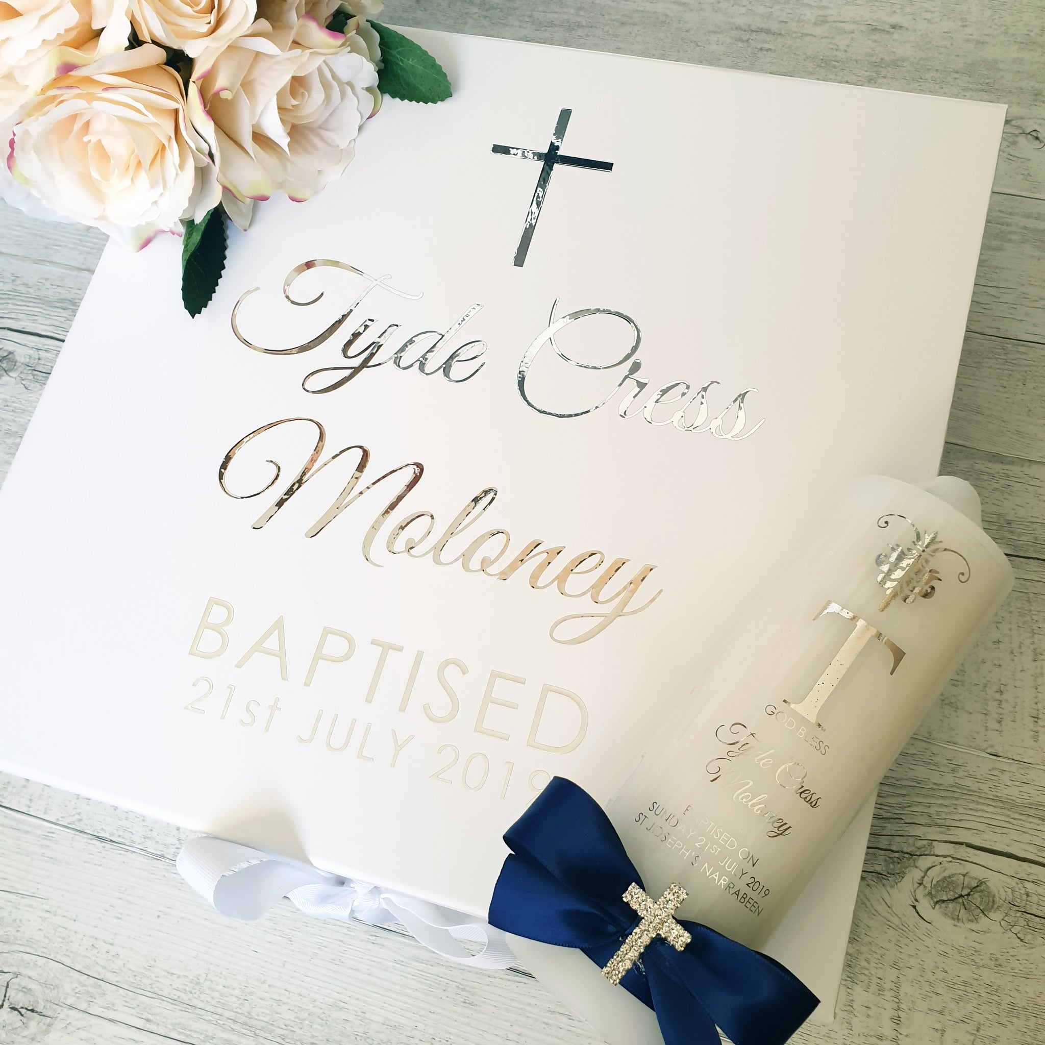 Christening / Baptism Gift Boxes - Deluxe