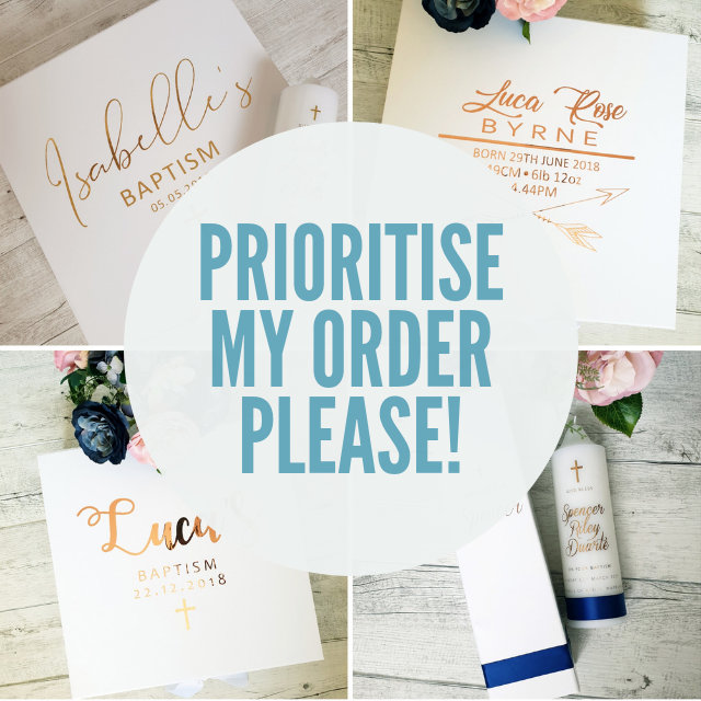 Prioritise My Order!