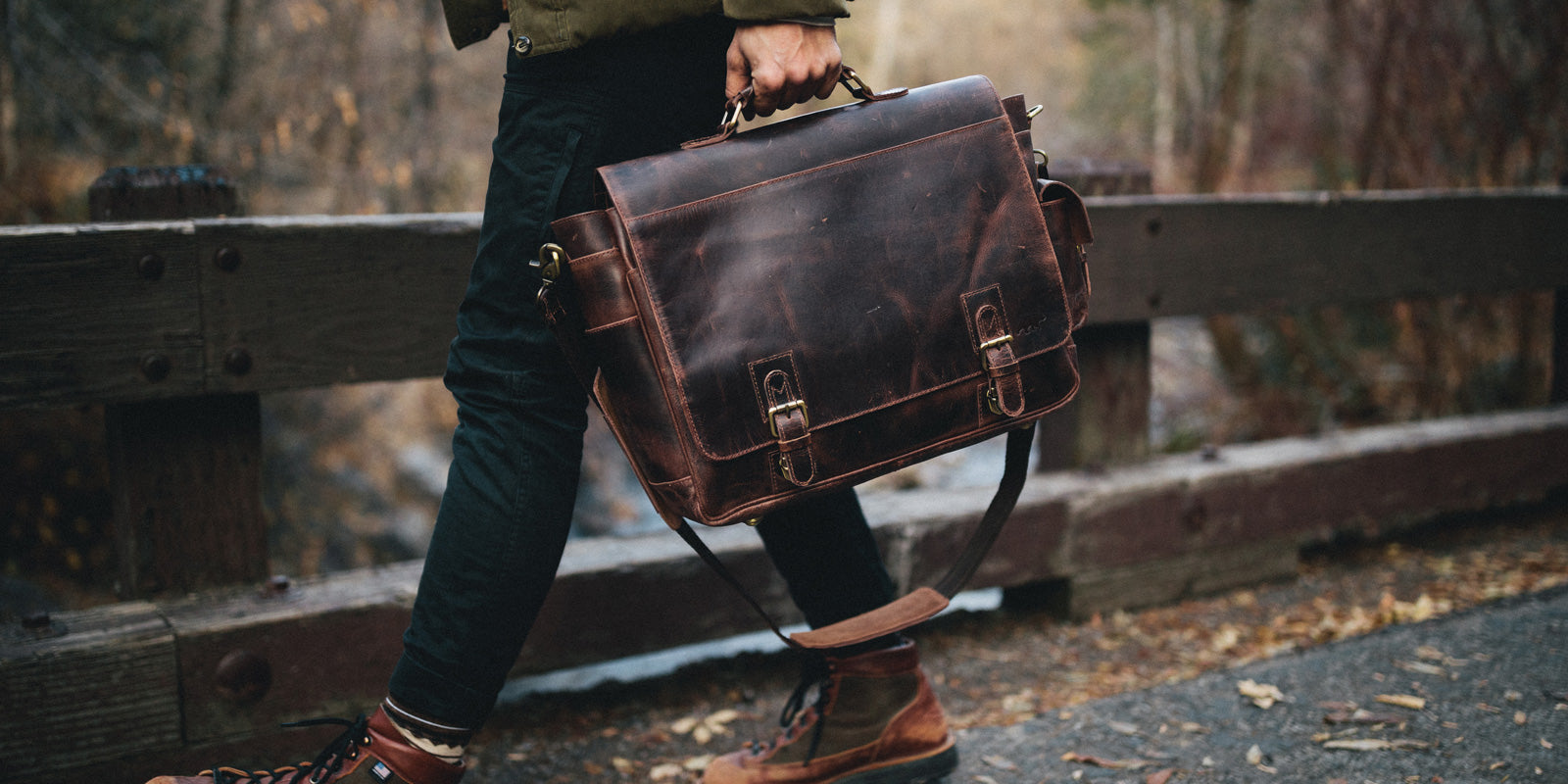 the ultimate real leather messenger bag buying guide