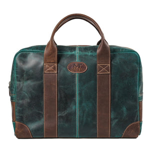 The Jefferson | Buffalo Leather Men's Briefcase Full Grain Laptop Bag