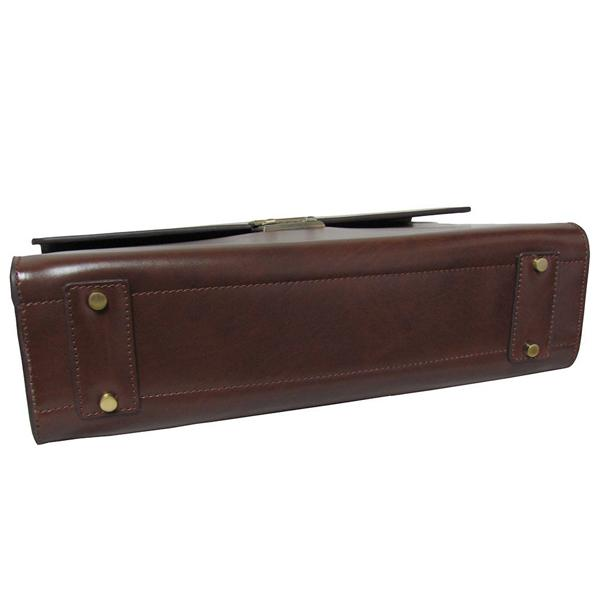 The Efficiency Leather Laptop Briefcase Bag For Men