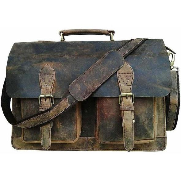The Ultimate Leather Messenger Bag Buying Guide The Distressed