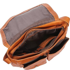 The Business 15 Inch Laptop Handcrafted Leather Messenger Bag For Men