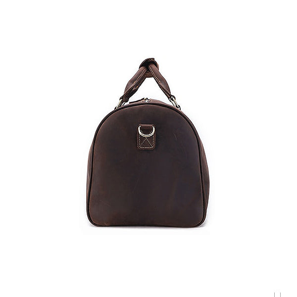 The Duffel Men's Leather Duffel Bag End