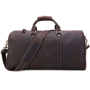 The Duffel Men's Leather Duffel Bag