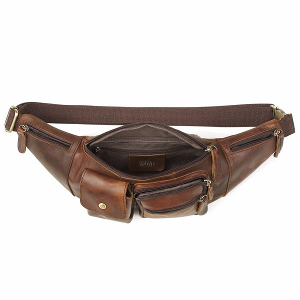 The Fanny Pack Men's Bum Bag Hip and Waist Pack Open