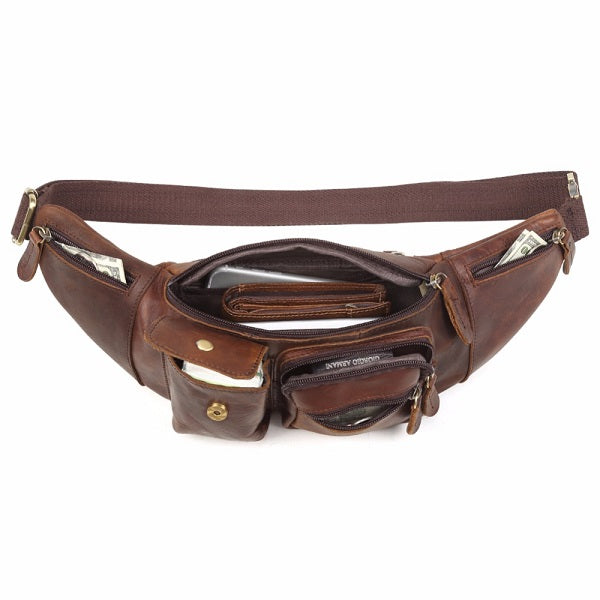 The Fanny Pack Men's Bum Bag Hip and Waist Pack Open Full