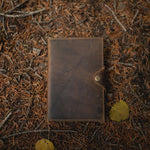 The Journal - Men's Top Grain Leather Diary Journal Flat