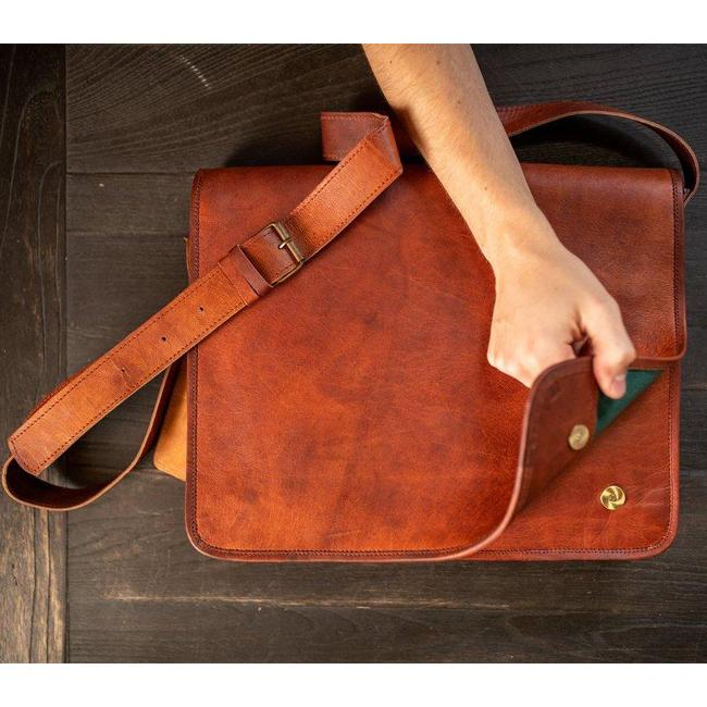 Top 7 Leather Satchels for Men 2020 The Messenger