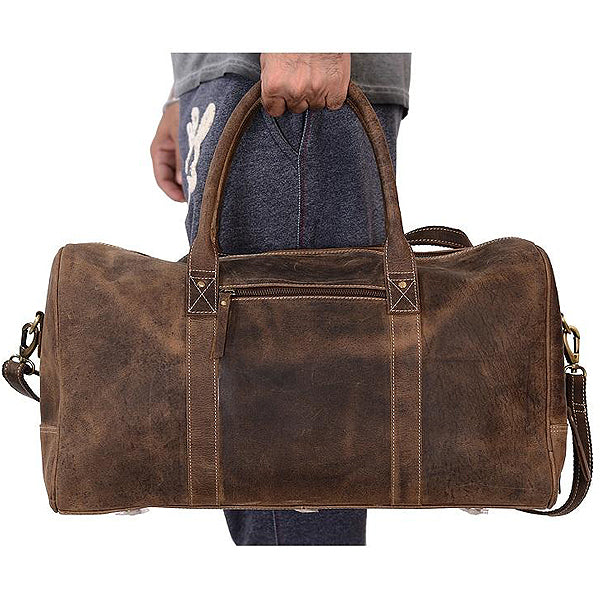 Mens leather bags the coarse