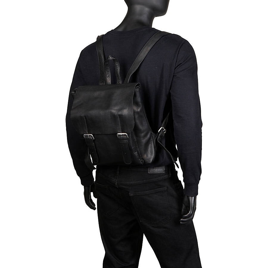 Leather Backpack for 13 Inch Laptops for Women & Men Worn