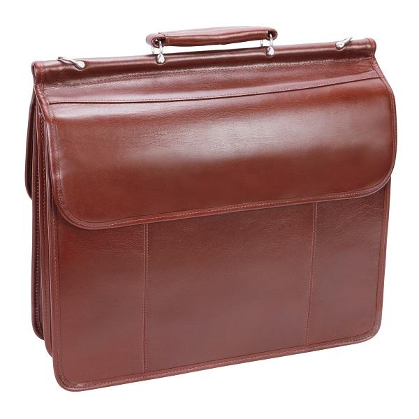 The Signorini 15 Inch Laptop Leather Messenger Bag Briefcase For Men