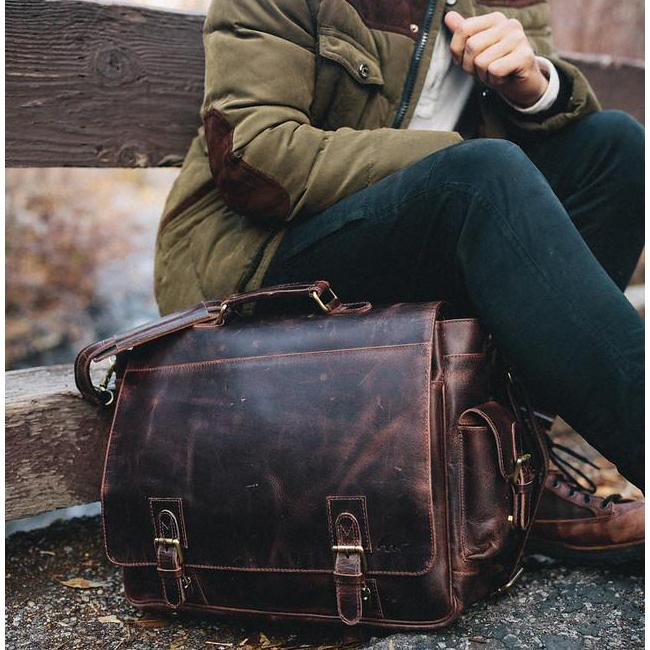 The Ultimate Leather Messenger Bag Buying Guide The Sitka