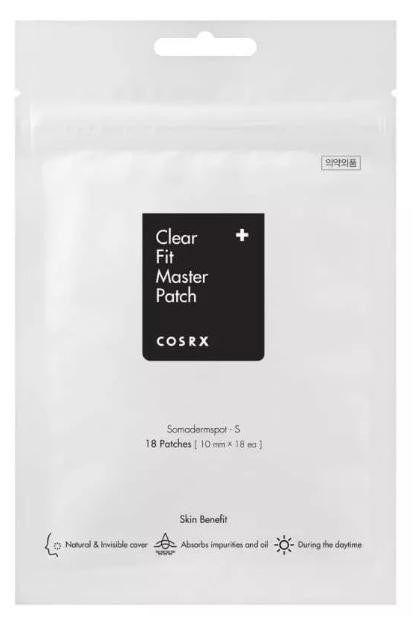 Cosrx Clear Fit Master Patch (18 Piezas) - Parches Anti-acné