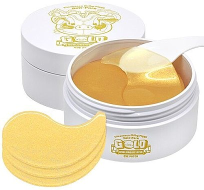 Elizavecca Hell-pore Gold Hyaluronic Acid Eye Patch 60pcs