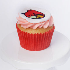 Angry Bird cupcake - Red Bird