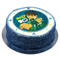 Ben 10 cake - Buttercream