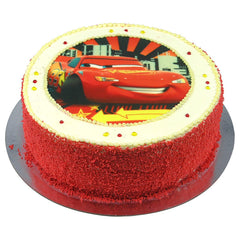 Cars cake - Buttercream